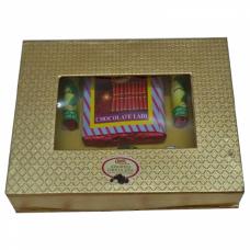 Diwali Crackers Chocolate Gift Box Homemade.