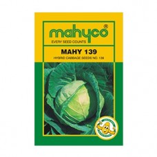 Mahyco Cabbage NO.139 (10g) vegetable Seeds