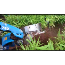 Ginger and Turmeric Inter cultivator soil filling rotatory