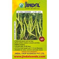 Jindal Chilli Hybrid Seeds(mirch Seeds)-Sahayadri-10GM