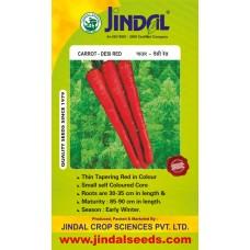 Jindal Carrot Hybrid Seeds(Gaajar Seeds) Desi red-500GM